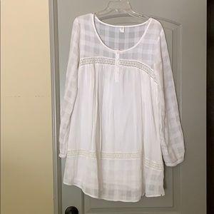 White Volcom casual dress